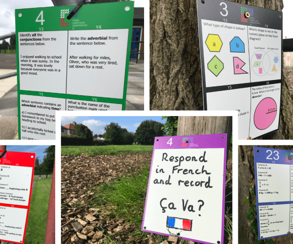 1. The Cross-Curricular Orienteering Signs